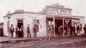 Hotchkiss History -- Duke Brothers General Merchandise