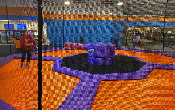 Trampoline Dodgeball in Laredo, Texas